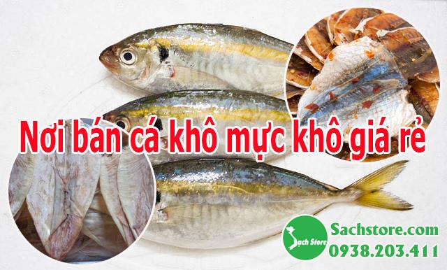 nơi bán cá khô mực khô giá rẻ