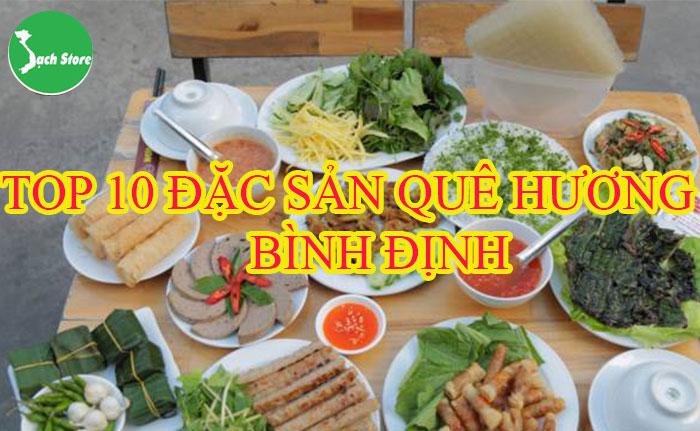 Top 10 đặc sản quê hương Bình Định