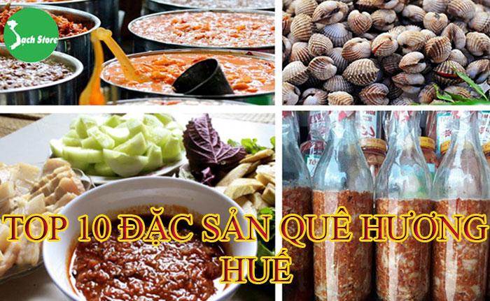 Top 10 đặc sản quê hương Huế